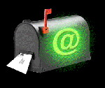 Green E-mail Box